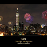 Happy New Year 2011, 100 R ♥ C, TAIWAN │ Jan. 01, 2011