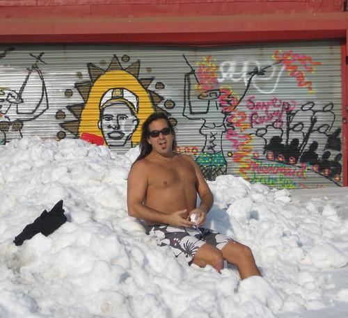 Dano Sunbathing