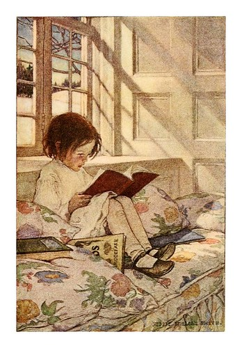 024-A child's garden of verses 1905- Robert Louis Stevenson- ilustrado por Jessie Willcox Smith