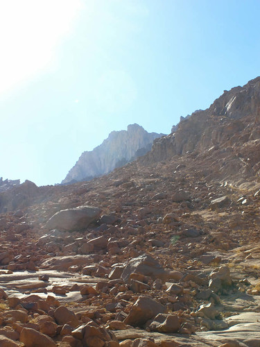 First Glimpse of Mt Sinai