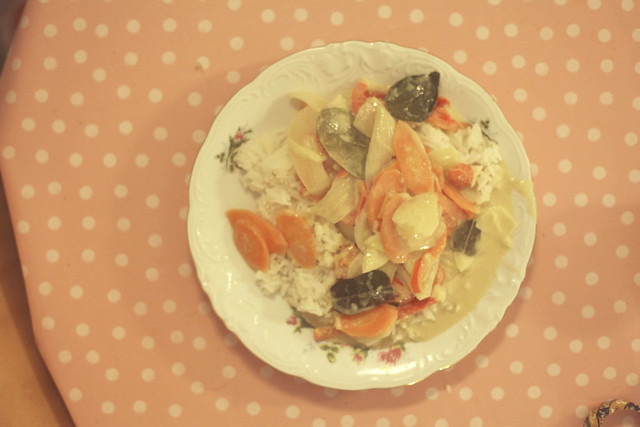 green curry.