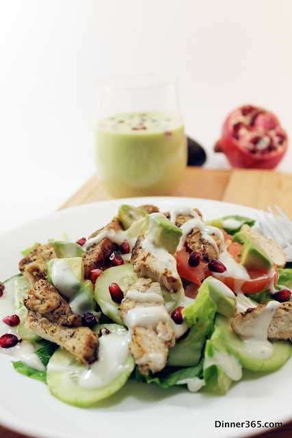Chicken Salad and Avocado Shake