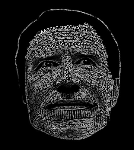 DNA sequence portrait