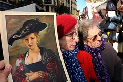Rubens On The Street (Costas Lycavittos) Tags: madrid espana rubens rastro nikond300 costaslycavittos nikkor20mmaismanual