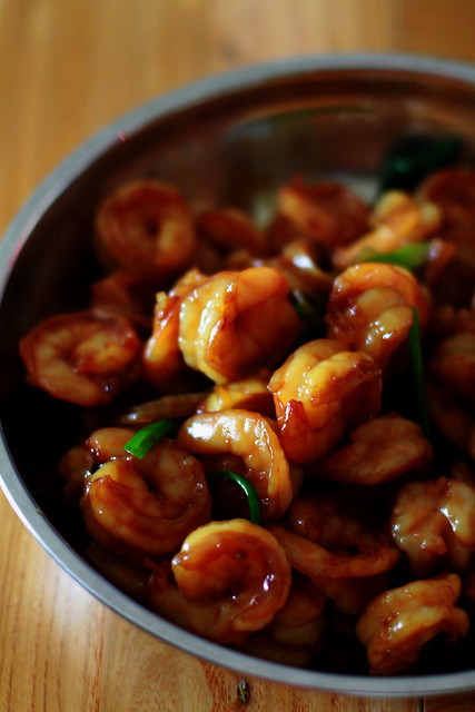 Teriyaki Shrimps
