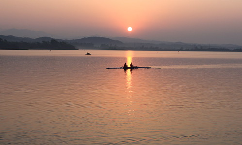 Chandigarh Lake sunrise
