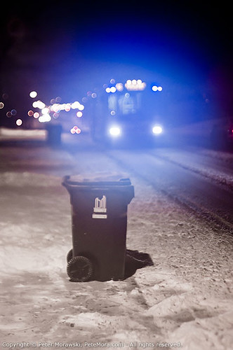 2011 First Snow: TTC Trash