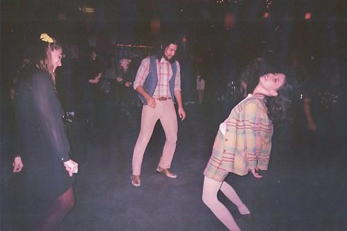 when the dance floor is empty