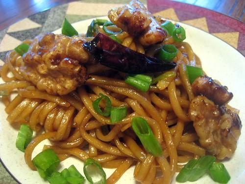 caramel noodles