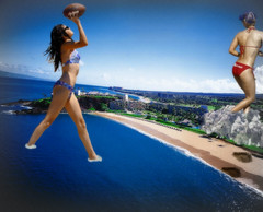 52 - Football Fun (jacens0l0) Tags: football destruction playful mega giantess haydenpanettiere goliaths selenagomez