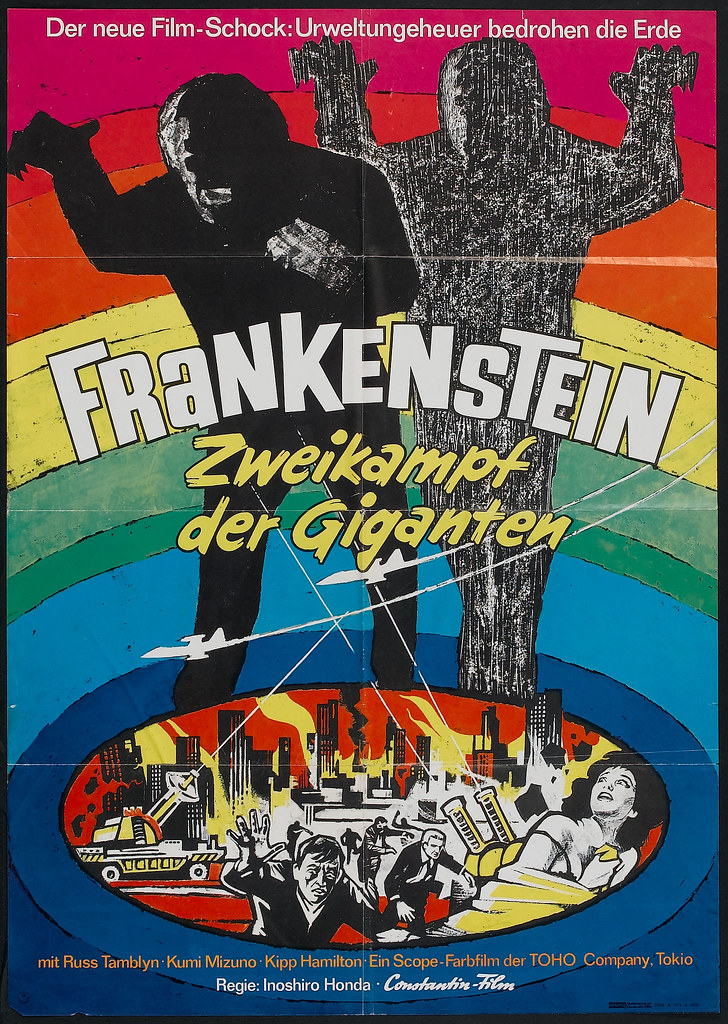 War of the Gargantuas (Toho, 1968). German