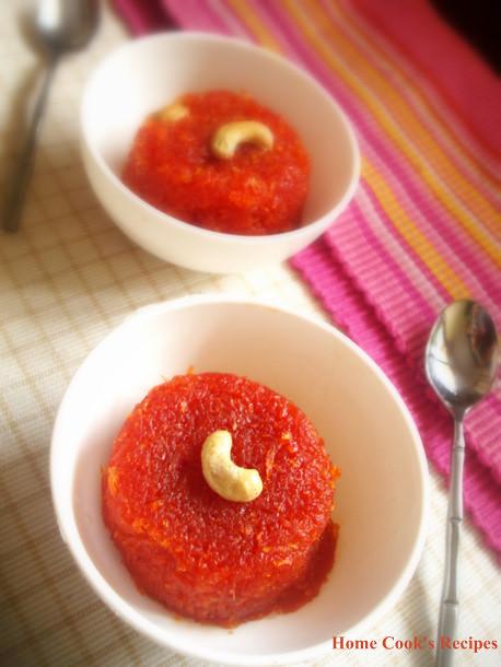 Delhi Carrot Halwa