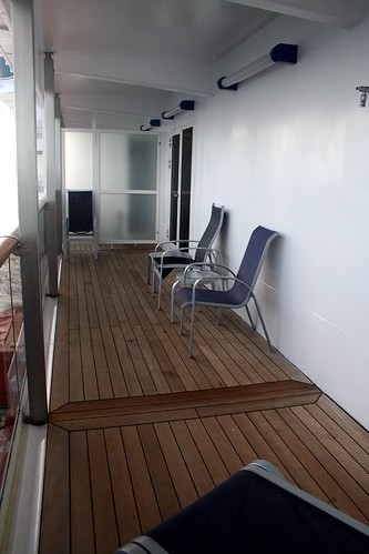Carnival Spirit - Cabin 7258 - Before the Second Lounger