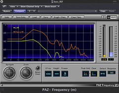 RIC-01 cable spectrographic analysis (Waves PAZ). By Luca Vicini (Vicio) - Click per zoom....