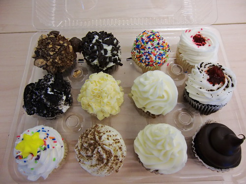 Cupcakes from House of Cupcakes