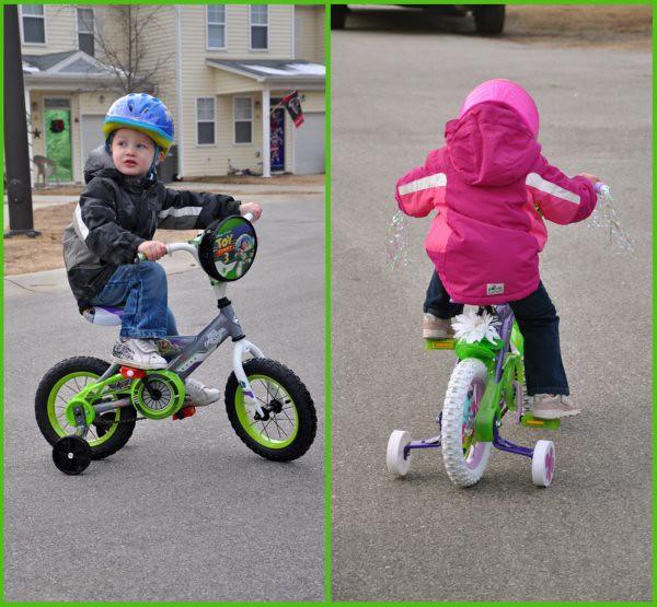 Ben and Lex Bikes