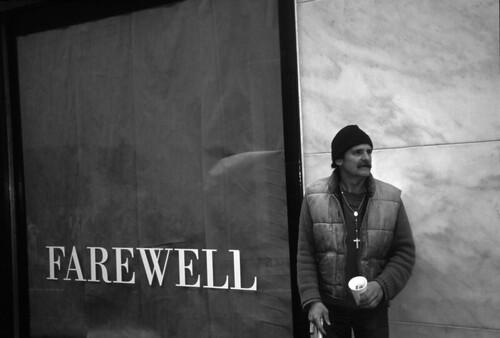 Richard Nagler, Farewell, San Francisco, California, February 1995