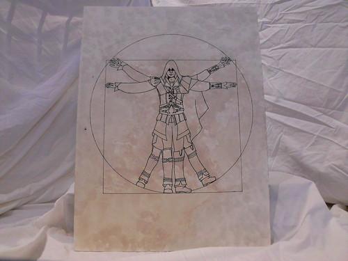 Ezio Auditore Vitruvian Man