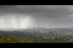 Stormy Outlook (jsnowy2768) Tags: city summer storm rain clouds grey flood australia brisbane queensland moisture humidity scenicoutlook