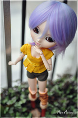 My purple sky (Au Aizawa) Tags: japanese outfit doll clothes pullip blythe rement modmolly celsiy