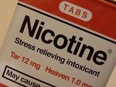 Nicotine (lydia_shiningbrightly) Tags: macro closeup tin smoking cigarettes addiction nicotine