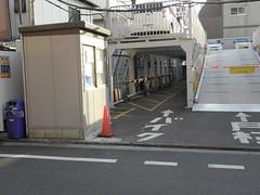 立川駅バイク駐車場