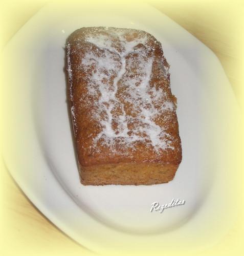 MINI-CAKE DE ZANAHORIAS Y NUECES