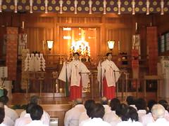 とんど 広島護国神社 2011画像 11