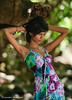 Deena (DanielKHC) Tags: light portrait woman tree colors beautiful look fashion lady 1 interestingness model eyes nikon dof dress natural bokeh explore elegant mauritius deena d300 riambel danielkhc nikkor70200mmf28vrii deenaappadoo