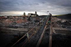 Welbeck Colliery - January 2011 (ThenewMendoza) Tags: mine demolition mining vale coal demolished nottinghamshire mansfield colliery headgear welbeck headstocks meden