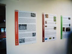 Cartelloni illustrativi per le piante del parco