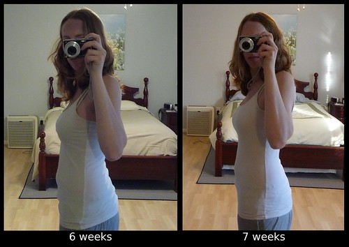 6-7 week comparison