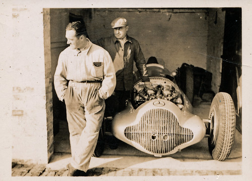 Mercedes Benz W154 - Hermann Lang - 3rd Donington GP 22 Oct 1938
