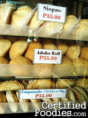 Good Shepherd's Siopao, Adobo Roll and Chicken Empanada - CertifiedFoodies.com