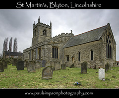 St Martins church (Paul Simpson Photography) Tags: uk england church graveyard religion stmartins headstones churchtower graves lincolnshire gravestone hdr burialground churchwindow blyton stmartinschurch churchphotos westlindsey photosofchurches churchimages paulsimpsonphotography