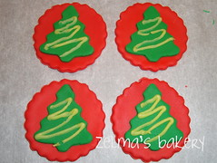 Cupcake Toppers - Christmas Tree