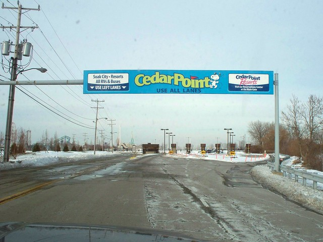 Cedar Point - Off-Season Toll Booths