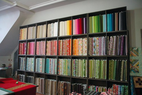 the workroom fabric wall