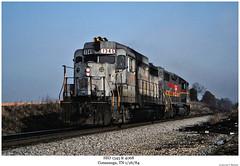 SBD 1345 & 4068 (Robert W. Thomson) Tags: railroad train diesel tennessee railway trains locomotive trainengine ln geep sbd emd gp382 conasauga gp38 gp30 louisvillenashville seaboardsystem fouraxle familylinessystem