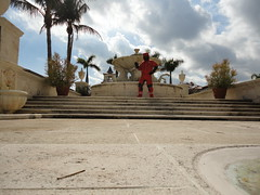 Down suit fountain 3 (rockpup_fl) Tags: west beach down palm suit himalayan downsuit