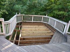 Gettysvue deck during