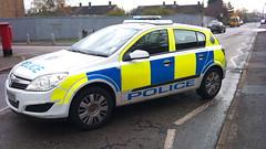 HERTS POLICE ASTRA (NW54 LONDON) Tags: vauxhallastra rrv hertfordshirepolice