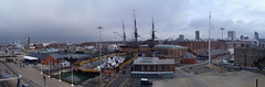 Panorama 4 (Seanathon) Tags: boat ship historic portsmouth aircraftcarrier arkroyal dockyard hmsvictory
