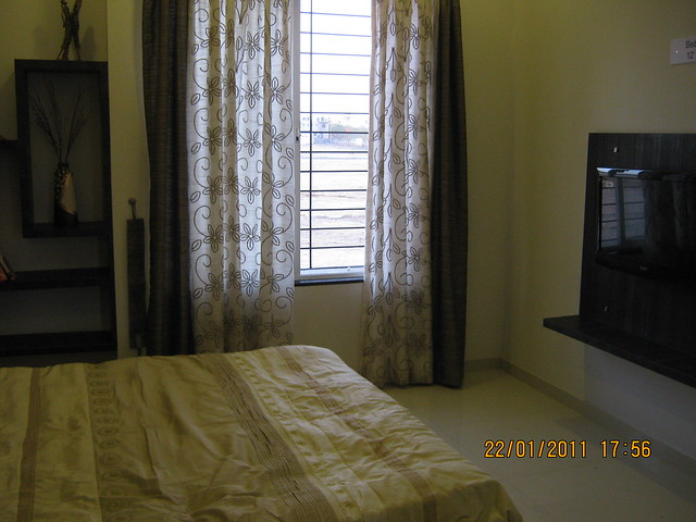 Visit to Neo City 1 BHK & 2 BHK Flats at Wagholi Pune 411 027 - 2 bhk sample flat - master-bedroom - 10 feet x 12 feet