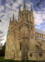 Selby Abbey Yorkshire (woodytyke) Tags: door uk blue