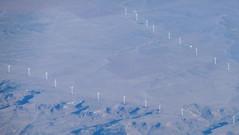 Wind Farm as Seen from the Sky (Peter Radunzel) Tags: aerialphotograph