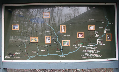 Wallace Falls trailhead
