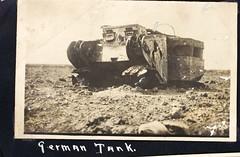 AL-44 1st Aero sq Album Image_000168 (San Diego Air & Space Museum Archives) Tags: firstaerosquadron worldwarone france thegreatwar greatwar worldwari thefirstworldwar wwi ww1 tank armoredwarfare armouredwarfare