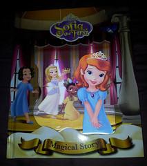 Sofia the First (AngelShizuka) Tags: book big sofia first disney story junior magical sleepover