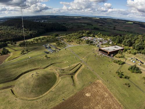"KAP Shot of ""The World of the Celts at the Glauberg (Keltenwelt am Glauberg)"" Looking SW"